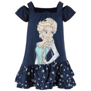 NWT - Disney Elsa Star Dress